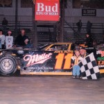 1996 Stateline Speedway with son Kevin