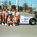 1999 Sponsorship Appearance with the Hooters Girls