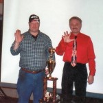 2004 Eriez Speedway Banquet after setting the record of winning 5 Championships in a Row